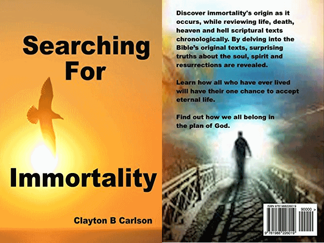 Searching For Immortality Book Cover